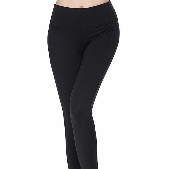 8b9bd411a92a8 Oalka Pants | Black Power Flex Yoga Legging M By | Poshmark